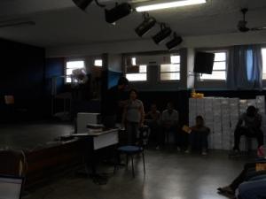 Uma estudante convidada a participar do desafio