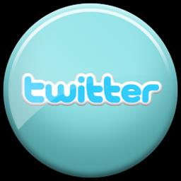 Twitter - site de microbloging - retirado de http://www.artevirtualfc.com.br/wp-content/uploads/twitter_256.png
