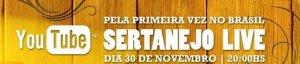 YouTube Sertanejo Live