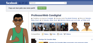 Novo perfil do facebook