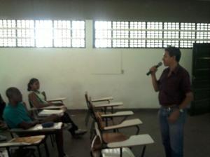 Colegio Leonor Calmon - professor Luis de História