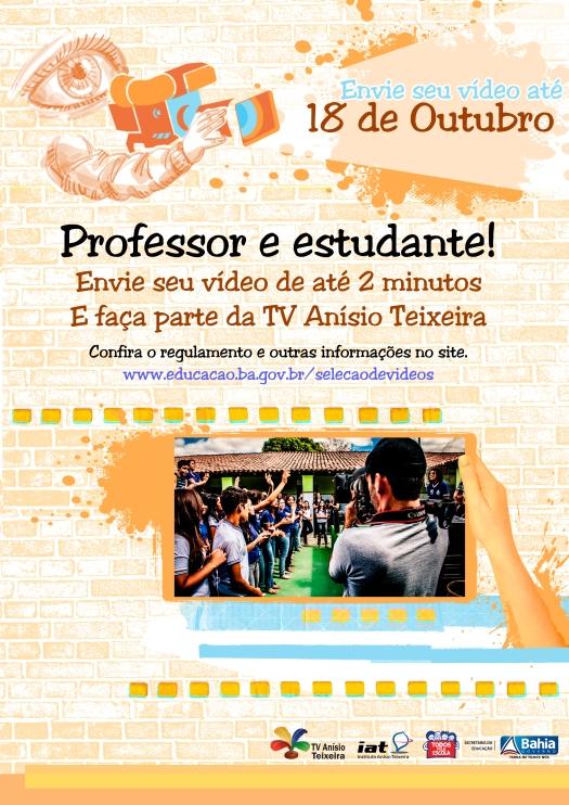 Cartaz_Impressão_Selecao TV Anisio Teixeira