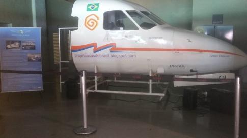 Simulador de Voo do CJCC. Foto: Lucicarla Lima
