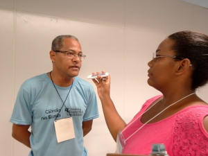 Entrevista com o professor Alberto Filho. Foto : Bira Mendes