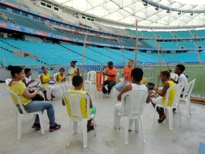 Roda de Capoeira. Foto: Bira Mendes
