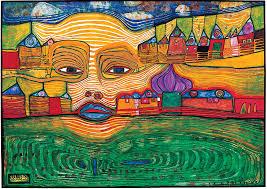 Pintura de Hundertwasser (1928-2000)