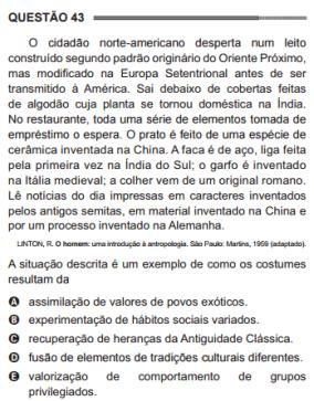 questao-enem-sociologia-diversidade cultural-1